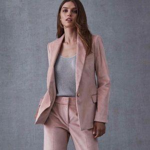 Reiss Pink Carie Corduroy Blazer